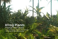 2020 XfrogPlants Tropical Trees and Plants DVD