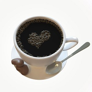 Coffee-Cup 3D