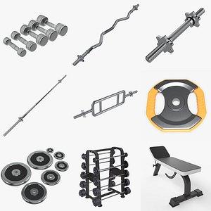 Sports equipment vol. 5 3D model