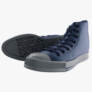 3D pbr converse sneaker