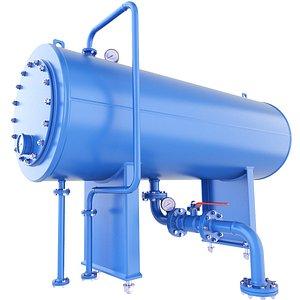 3D vessel pressure model