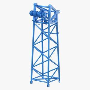 crane s head section model