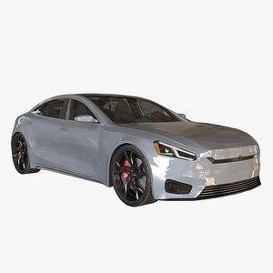 Generic Electric car 2 model
