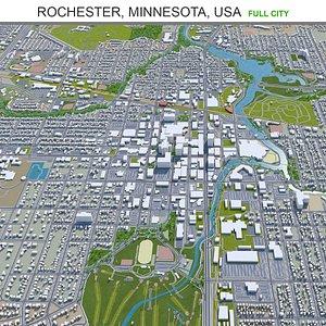 Rochester Minnesota USA 3D