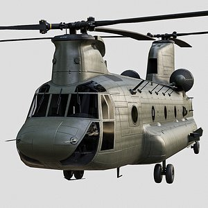 3D model chinook ch