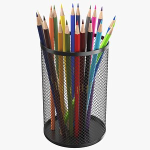 Pencil Holder Wired model