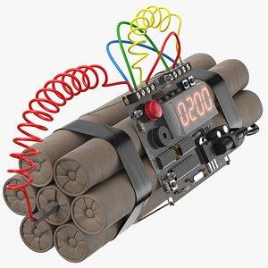 3D bomb 01 2 min model