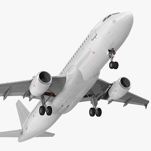 3D model airbus a320 generic