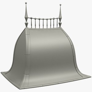 stylized roof 3D