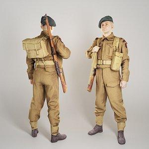 British soldier with gun 289 model