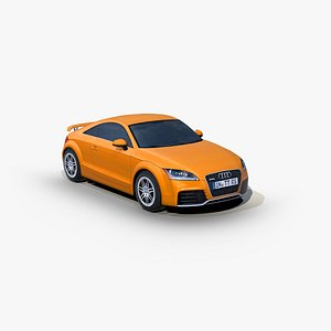 3D Audi TT RS 2012 model