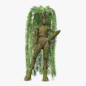 3D nature tree model