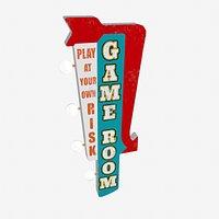 Game Room Vintage LED Marque