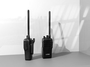 3D Walkie-talkie Realistic Walkie-talkie Handheld Walkie-talkie Fine Walkie-talkie