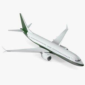 Turbofan Aircraft Scale Model 3D model