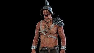 3D model monster character