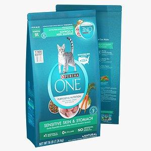 3D model Purina One Puroseful Nutrition Cat Food