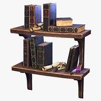 Stylized Book Shelf