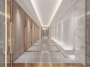 Hotel Aisle 3D
