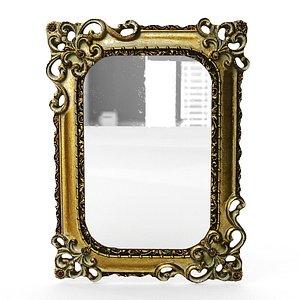frame mirror antique 3D model
