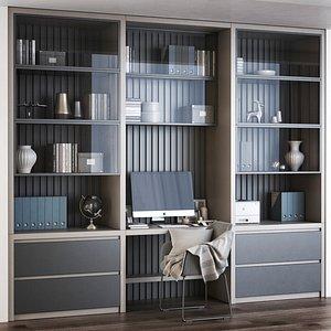 Furniture composition 8 3D model