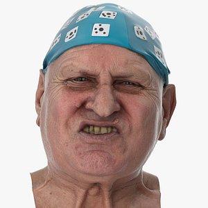 3D Homer Human Head Lip Funneler AU22 Clean Scan