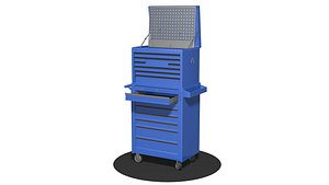 Workshop  Tool  Storage  Cupboard 3D model