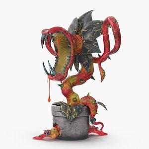 carnivorous plant 3D model