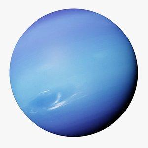 The Planet Neptune 3D model