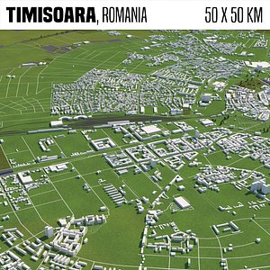 3D city buildings