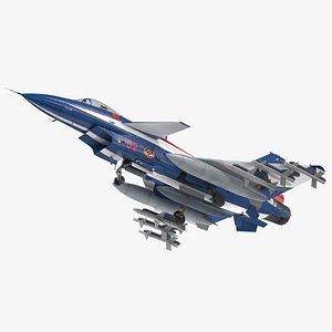 PLAAF J10 Vigorous Dragon Aerobatic Team Armament 3D model