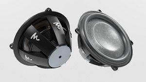 3D Speaker Woofer Focal - Blender 3d