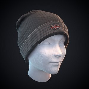 3D pbr ready head model