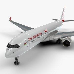 3D a350-900 air mauritius l1144
