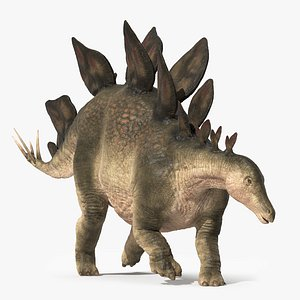 Stegosaurus - Rigged and Animated 3D
