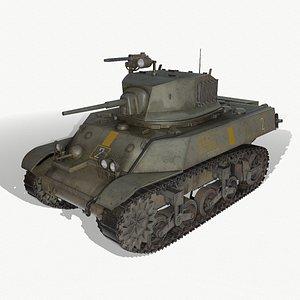 3D tank stuart v
