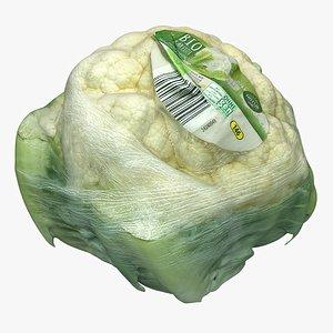 packed cauliflower model