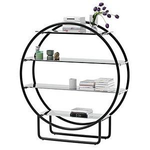 3D standout storage shelf furniture