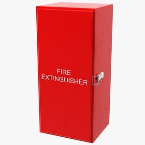 extinguisher fibreglass cabinet 3D model