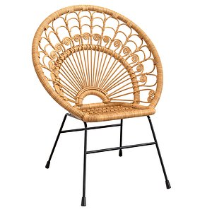 3D Rattan - Round Stuhl Kali chair Mandulay