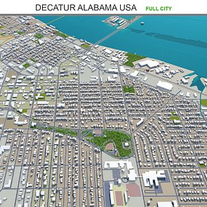 Decatur Alabama USA model