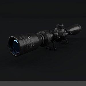 cvlife tactical 3-9x40 optics 3D model