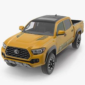 3D Toyota Tacoma TRD Off Road Bronze 2021