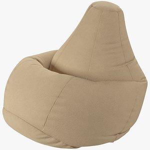 3D model Bean Bag Chair V2