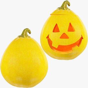 Halloween Pumpkins Collection V5 3D model