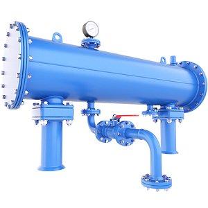 3D vessel pressure reactor
