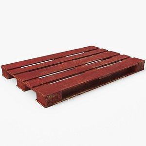 wood pallet model