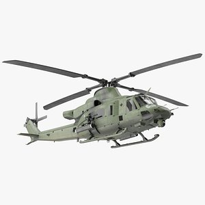 Military Medium Utility Helicopter 3D