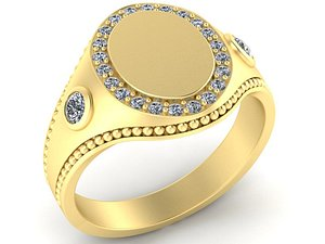3D ring gems