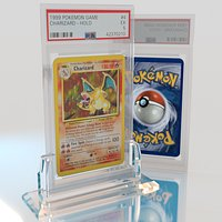 Pokemon Card With Display Stand